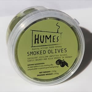 Smoked Sicilian Olives 250g