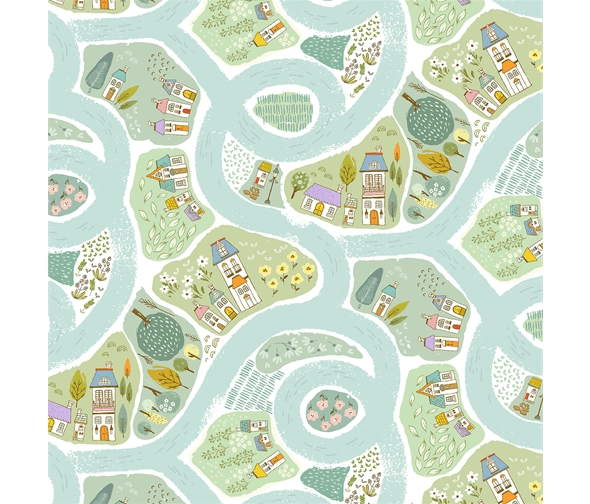 fabric-green-river-houses